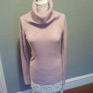 H&M Long Sleeve Lilac Turtleneck Sweater szM